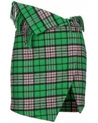 The Attico Skirt 214wcs57w026 - Groen