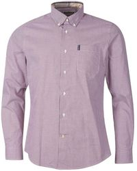 Barbour Gingham 23 Tailored Shirt - Roze