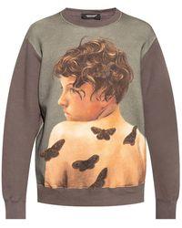 Undercover Printed Sweatshirt - Grijs