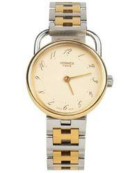 Hermès Orologio Clipper usato - Giallo