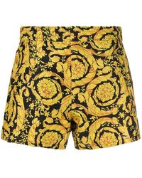 Versace Shorts de baño Amarillo
