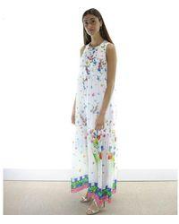 Blugirl Blumarine Vestido largo Blanco