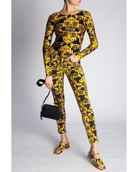 Versace Jeans Couture Patterned body Amarillo