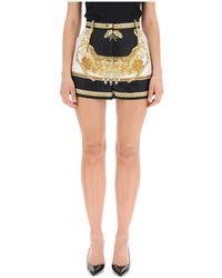 Versace Silk Shorts - Zwart