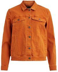 Object Objchrisa Twill Jacket - Oranje