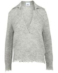 Erika Cavallini Semi Couture Sweater - Grau