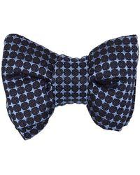 Tom Ford Geometrical Bow Tie - Blauw