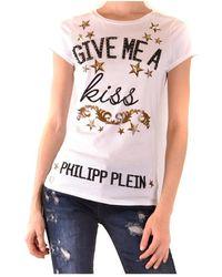 Philipp Plein T-shirt à manches courtes - Blanc