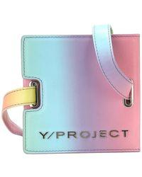 Y. Project Handbag Wbag1Minis19S15 - Rose
