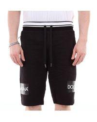 Dolce & Gabbana Gyphatg7slz Bermuda Shorts - Zwart