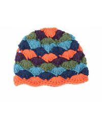 The Attico Hat - Blauw