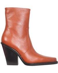 Paris Texas Rodeo Boots - Oranje