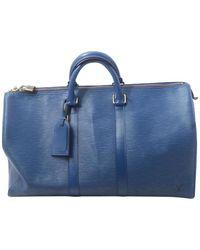 Louis Vuitton Keepall - Blu
