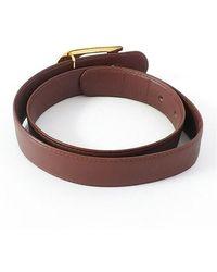 Dior Cinturón usado Marrón