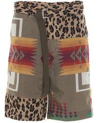 Sacai Shorts - Naturel