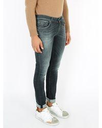 Floris Van Bommel Skinny fit jeans Negro