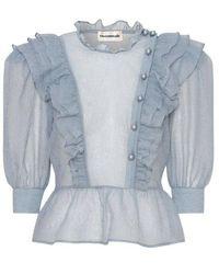 Custommade• Daiva blouse - Azul
