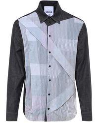 Koche Shirt Sk2dl0011s30697 - Zwart