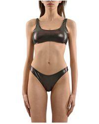 Calvin Klein Costume bikini - Marrone