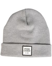 Opening Ceremony Knitted Hat - Grijs