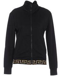 Versace Sweatshirt With Greek Print - Zwart