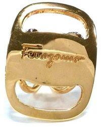 Ferragamo Ring - Jaune