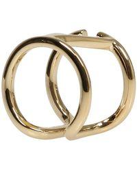 Valentino Vlogo Signature Ring Beige - Neutro