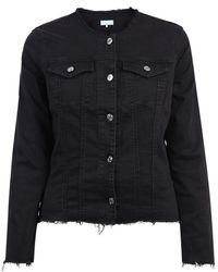 7 For All Mankind Jacket - Negro