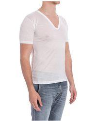 Zimmerli T-Shirt Blanco