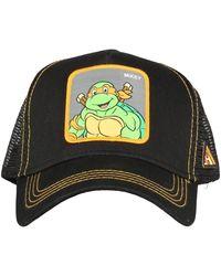 K-Way Turtles Cap - Zwart