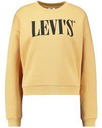 Levi's Graphic Diana Crewneck Sweatshirt - Geel