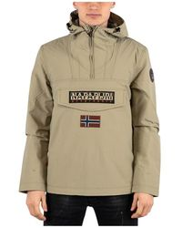Napapijri Rainforest Jacket - Naturel