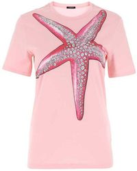 Versace T-shirt - Roze