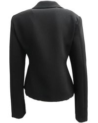 Boutique Moschino - Giacca Crepe Negro - Lyst