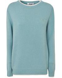 MSGM Sweater - Blu