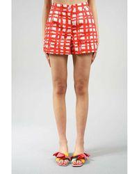 Stella Jean Shorts Rojo