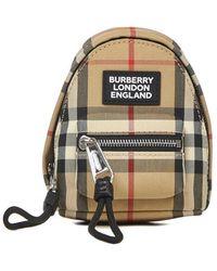 Burberry Sleutelhanger - Naturel