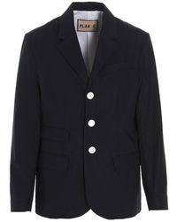 Plan C Coat - Blauw