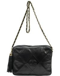 Chanel Pre-owned Tassel Camera Bag - Schwarz