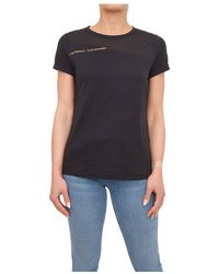 EA7 T-shirt - Zwart