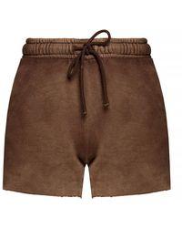 Cotton Citizen Shorts With Worn Effect - Bruin