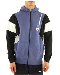 Champion 213639 Jacket - Blauw