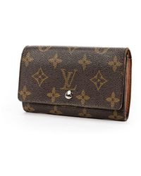 Louis Vuitton Portafoglio con zip Porte-Monnaie - Marrone