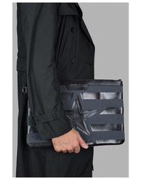 Jimmy Choo Derek clutch bag Gris