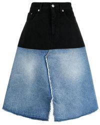 MM6 by Maison Martin Margiela Skirt - Blauw