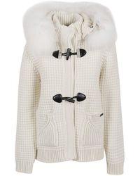 Bark Short coat - Blanco