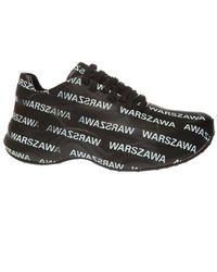 MISBHV Warszawa Moon Sneakers - Zwart