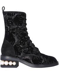 Nicholas Kirkwood Casati Boots - Zwart