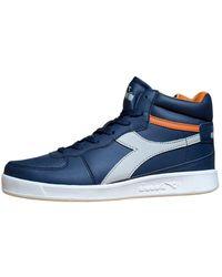 Diadora Sneakers Playground High wn Donna - Blau