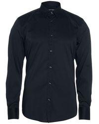 Antony Morato Timeless Shirt Long Sl. Super Slim - Blauw